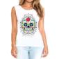 Transfer sublimático para camiseta Caveira Mexicana 002061