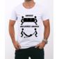 Transfer sublimático para camiseta Engraçada 000525