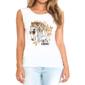 Transfer sublimático para camiseta Feminina 004255