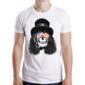 Transfer sublimático para camiseta Caveiras 003361