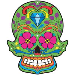 d6fe30c5a Transfer sublimático para camiseta Caveira Mexicana 002053