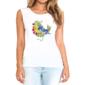 Transfer sublimático para camiseta Feminina 004127
