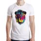 Transfer sublimático para camiseta Abstrata 004867