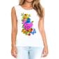 Transfer sublimático para camiseta Feminina 004263