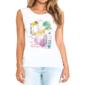 Transfer sublimático para camiseta Feminina 002255