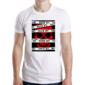 Transfer sublimático para camiseta Caveiras 003709