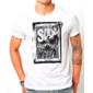 Transfer sublimático para camiseta Caveiras 003220