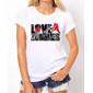 Transfer sublimático para camiseta Zombies 001903
