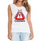 Transfer sublimático para camiseta Engraçada 000516