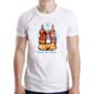 Transfer sublimático para camiseta Santos 004452