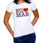 Transfer sublimático para camiseta Dia das Mães 000138