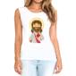 Transfer sublimático para camiseta Santos 004446