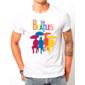 Transfer sublimático para camiseta The Beatles 002136