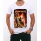 Transfer sublimático para camiseta Megadeth 000272