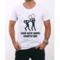 Transfer sublimático para camiseta Engraçada 000472