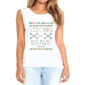 Transfer sublimático para camiseta Feminina 002856