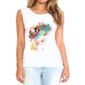 Transfer sublimático para camiseta Feminina 002395