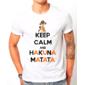 Transfer sublimático para camiseta Keep Calm 002945