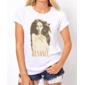 Transfer sublimático para camiseta Beyoncé 000178