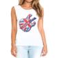 Transfer sublimático para camiseta Feminina 002437