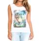 Transfer sublimático para camiseta Feminina 003046