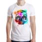 Transfer sublimático para camiseta Caveiras 003365