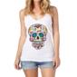 Transfer sublimático para camiseta Caveira Mexicana 000099