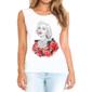 Transfer sublimático para camiseta Feminina Marilyn Monroe 003527