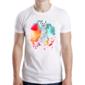 Transfer sublimático para camiseta Animal Hipster 003459