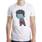 Transfer sublimático para camiseta Zombies 004333