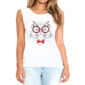 Transfer sublimático para camiseta Animal Hipster 002387