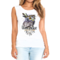 Transfer sublimático para camiseta Feminina 004193