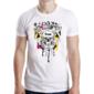 Transfer sublimático para camiseta Caveiras 004532