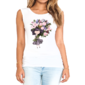 Transfer sublimático para camiseta Feminina 004161