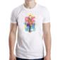 Transfer sublimático para camiseta Animal Hipster 003553