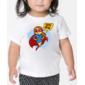 Transfer sublimático para camiseta Heróis Baby 004311