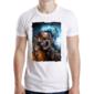 Transfer sublimático para camiseta Caveiras 003427