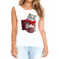 Transfer sublimático para camiseta Feminina 004240
