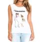 Transfer sublimático para camiseta Veterinária 004761