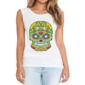 Transfer sublimático para camiseta Caveira Mexicana 002051
