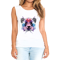 Transfer sublimático para camiseta Feminina 002677