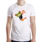 Transfer sublimático para camiseta Sapos Funny 003632