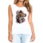 Transfer sublimático para camiseta Feminina 004218