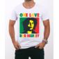 Transfer sublimático para camiseta Bob Marley 000189