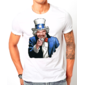 Transfer sublimático para camiseta Seu Madruga/Tio Sam 003259