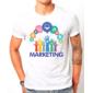 Transfer sublimático para camiseta Marketing 003011