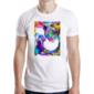 Transfer sublimático para camiseta Abstrata 003621