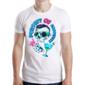Transfer sublimático para camiseta Caveiras 003447