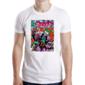 Transfer sublimático para camiseta Heróis/Vilões 004686