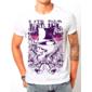 Transfer sublimático para camiseta Caveiras 001493